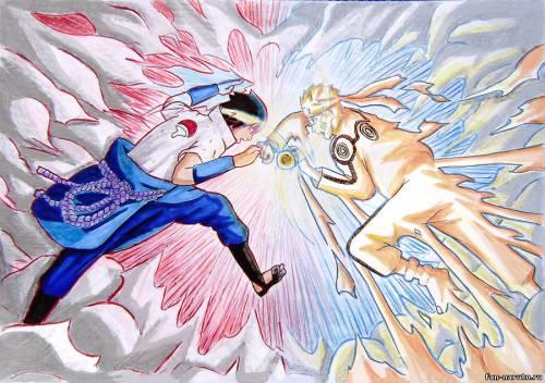 Саске против Наруто