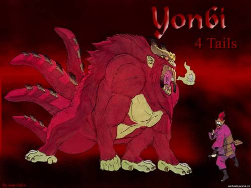 Yonbi and  Jinchuriki