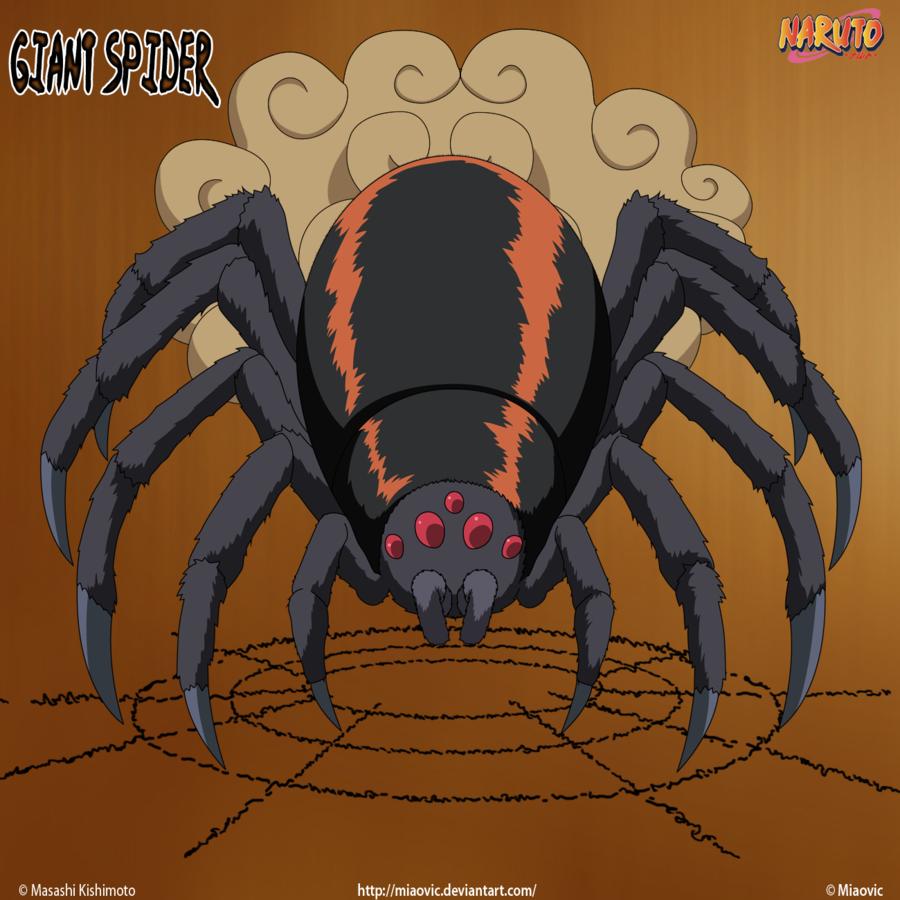 картинки пауки аниме