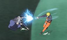 Наруто вновь сражается с Саске