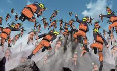 Большое количество Чакры позволяет Наруто создать целую армию Каге Буншин