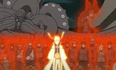 Наруто и Альянс с чакрой Курамы