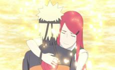 Наруто прощается со своей мамой