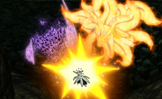 Наруто и Саске против Обито
