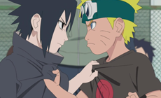 Противостояние между Наруто и Саске
