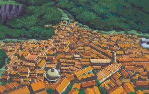 Деревня скрытая за луной