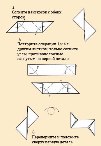 Сделать кунай из бумаги